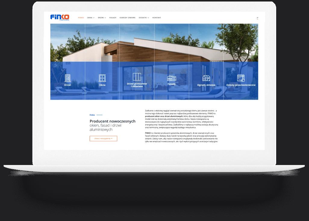Strona internetowa Finko
