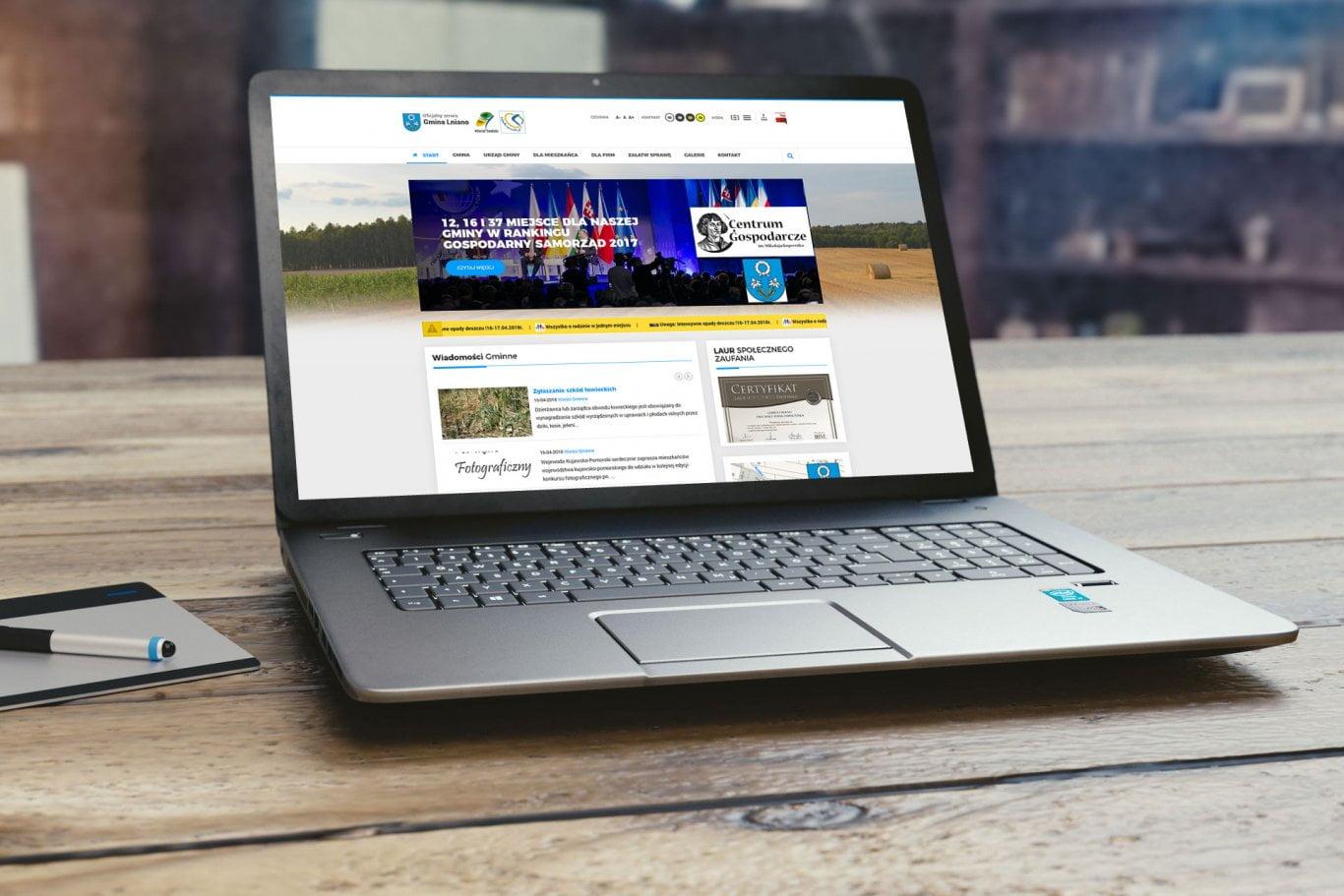 strony internetowe dla miast i gmin